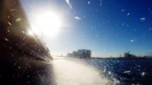 Kort ordløs film om oplevelsen af at sejle med RIB-Båd ud i Aarhus Bugten med Aarhus Sea Rangers.