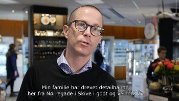 Webfilm om Guldsmed Østergaard fra Skive, produceret af Bellamondo.dk